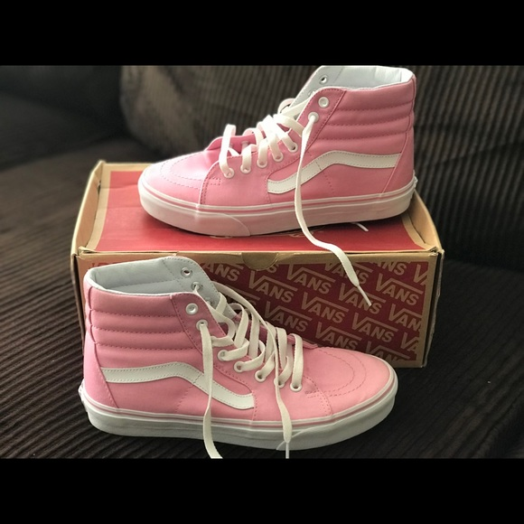 45071c131a5ee6 Vans Shoes - Canvas prism pink Sk8-Hi Vans